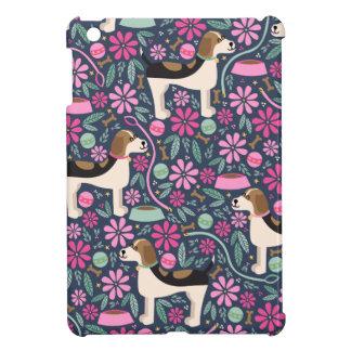美しいビーグル犬 iPad MINIカバー