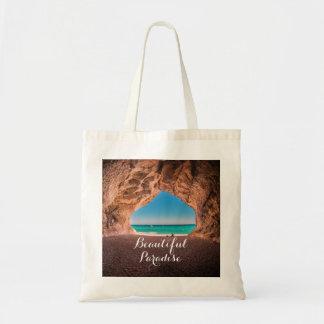 美しいビーチの楽園 トートバッグ
