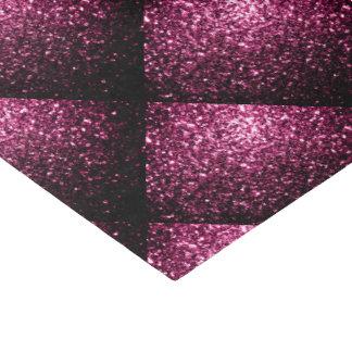美しいピンクのグリッターの輝きはパターンをタイルを張りました 薄葉紙