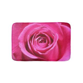 美しいピンクのバラ バスマット