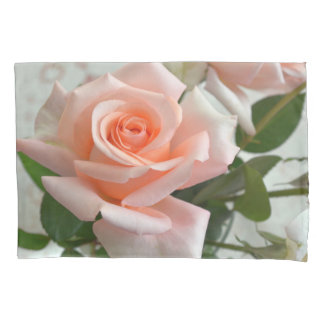美しいピンクのバラ 枕カバー