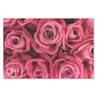 美しいピンクのバラ 薄葉紙