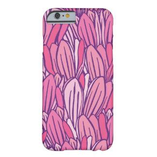 美しいピンクのマグノリアのデザイン BARELY THERE iPhone 6 ケース