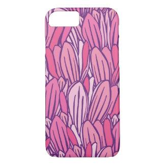 美しいピンクのマグノリアのデザイン iPhone 8/7ケース