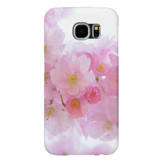 美しいピンクの日本のな桜 SAMSUNG GALAXY S6 ケース