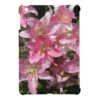 美しいピンクユリ iPad MINI カバー