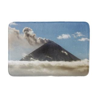 美しいピーク活火山 バスマット