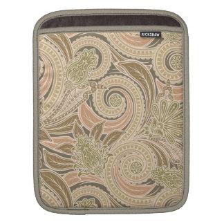 美しいペイズリーパターン iPadスリーブ