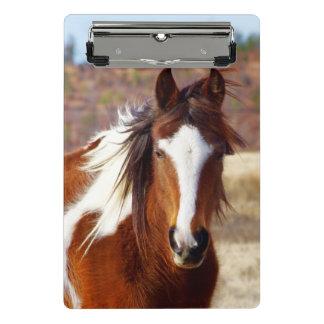 美しいペンキの馬の小型クリップボード ミニクリップボード
