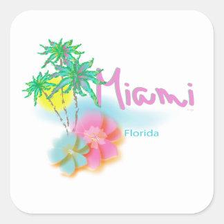 美しいマイアミフロリダ スクエアシール