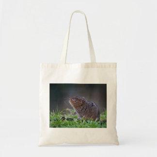 美しいミズハタネズミのトートバック トートバッグ