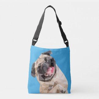 美しいモップ犬 クロスボディトートバッグ