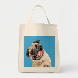 美しいモップ犬 トートバッグ