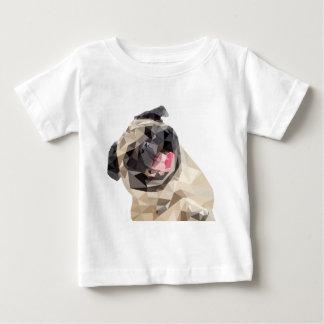 美しいモップ犬 ベビーTシャツ