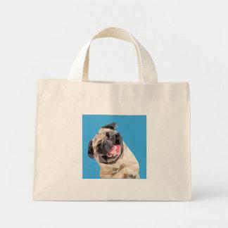 美しいモップ犬 ミニトートバッグ