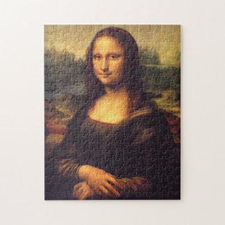 美しいモナ・リザ ジグソーパズル