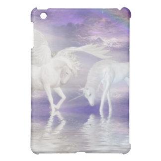 美しいユニコーンおよびペガソスのファンタジー iPad MINI CASE