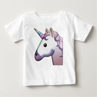 美しいユニコーンEmoji ベビーTシャツ