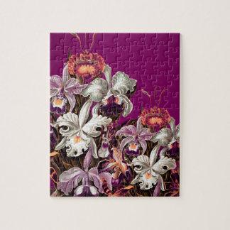 美しいラベンダーのヴィンテージの花 ジグゾーパズル