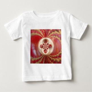 美しいヴィンテージの写実的な革コオロギBalls.jp ベビーTシャツ