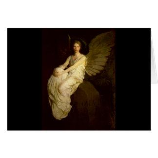 美しいヴィンテージの天使- Abbott Handerson Thayer カード