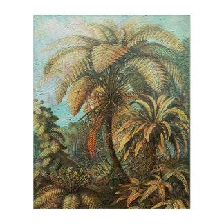 美しいヴィンテージの色彩の鮮やかな自然 アクリルウォールアート