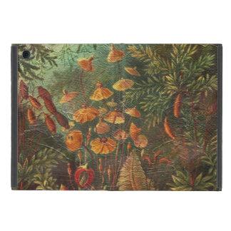 美しいヴィンテージの花 iPad MINI ケース