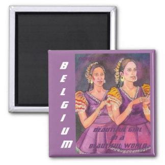 美しい世界の美しい女の子、ベルギーMagne マグネット