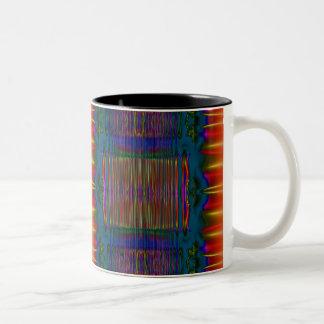 美しい中心 ツートーンマグカップ