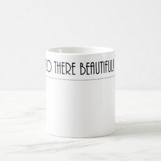 美しい井戸こんにちはそこに! コーヒーマグカップ