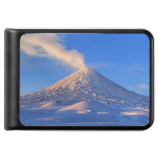 美しい冬の火山景色 モバイルバッテリー