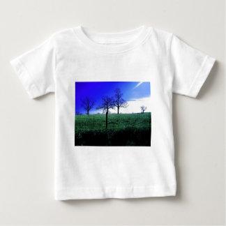 美しい冬の自然場面 ベビーTシャツ