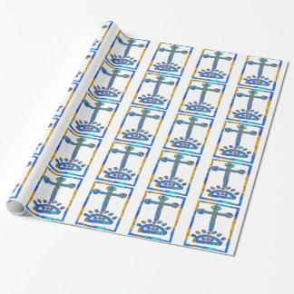 美しい十字 包み紙