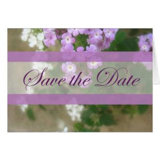 美しい印象2の保存日付の結婚式 カード