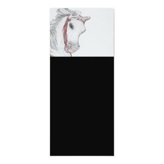 美しい回転木馬の馬 カード