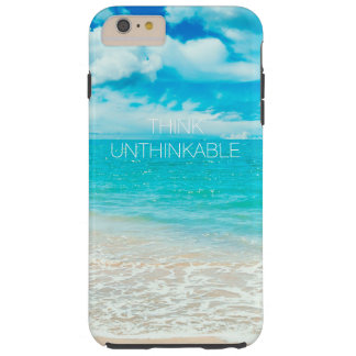美しい夏のビーチ TOUGH iPhone 6 PLUS ケース