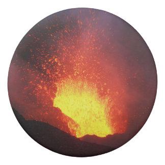美しい夜火山爆発 消しゴム