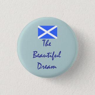美しい夢のスコットランドの独立 3.2CM 丸型バッジ