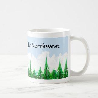 美しい太平洋の北西マグ コーヒーマグカップ