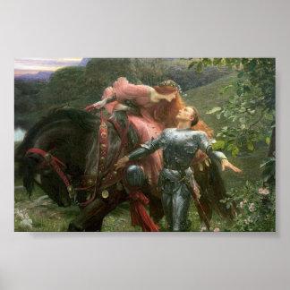 美しい女性および彼女の騎士 ポスター