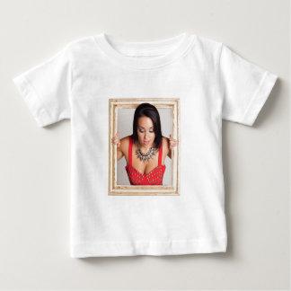 美しい女性の抽象的なイメージ ベビーTシャツ