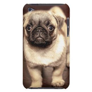 美しい子犬のパグ、犬、ペット、動物 Case-Mate iPod TOUCH ケース