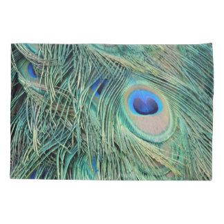美しい孔雀の羽の目 枕カバー