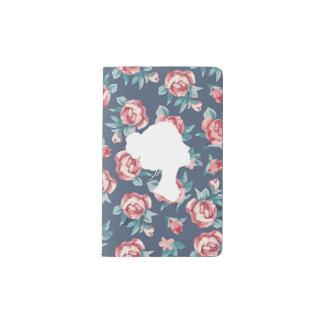 美しい強さ(バラ) -小さいノート ポケットMoleskineノートブック