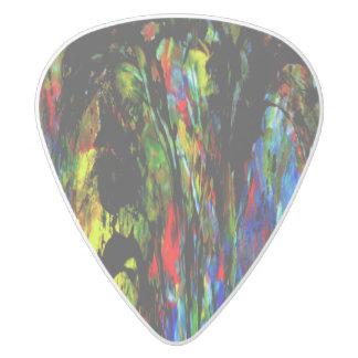 美しい心 ホワイトデルリン ギターピック