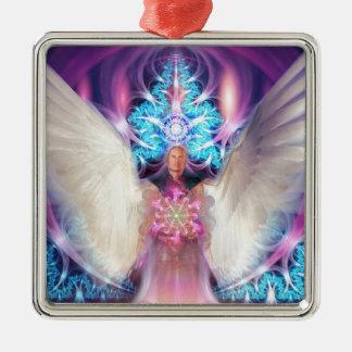 美しい愛情のある天使 メタルオーナメント