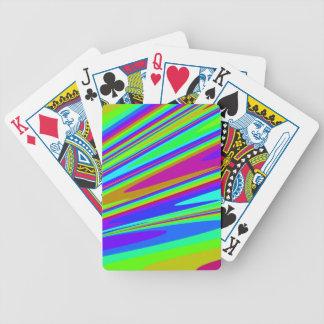 美しい抽象美術カード バイスクルトランプ