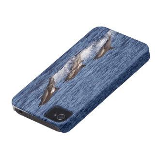 美しい日のTravellngのイルカ Case-Mate iPhone 4 ケース