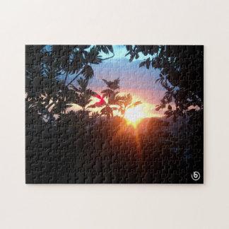 美しい日没のパズル ジグソーパズル
