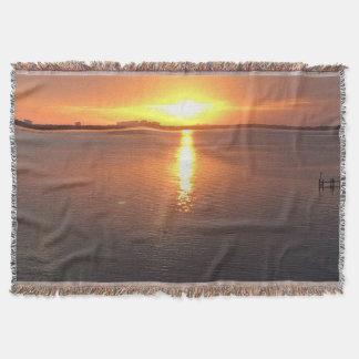 美しい日没 スローブランケット